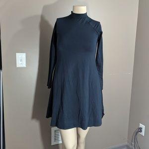Alternative Earth dress mock turtle neck size XL